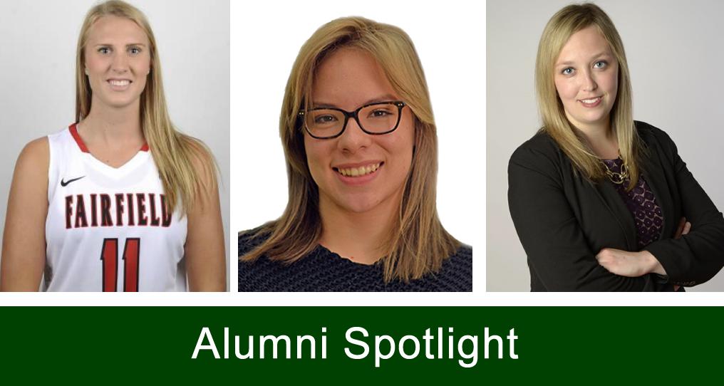 Alumni spotlight - 3 student portraits