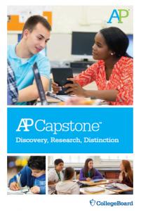Ap Capstone Brochure Cover