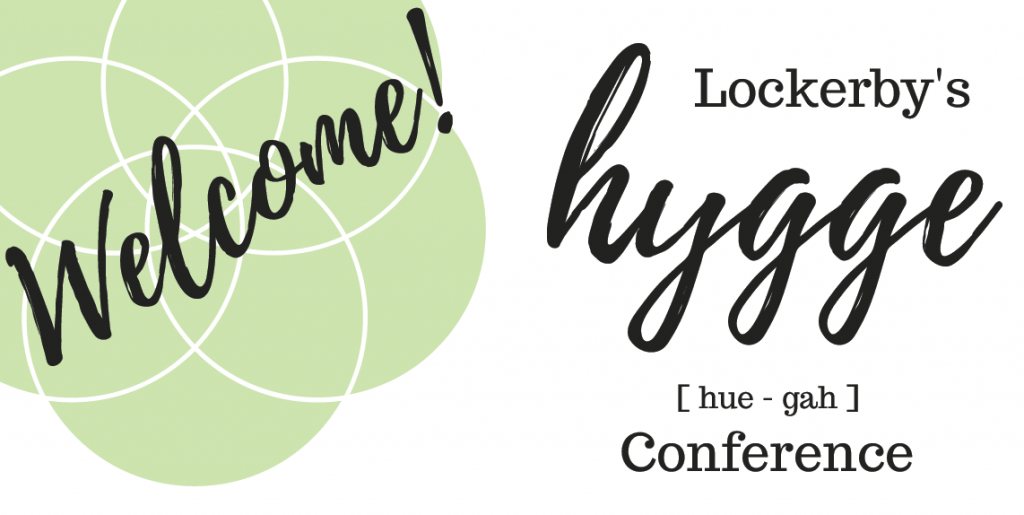 Welcome poster for hygge