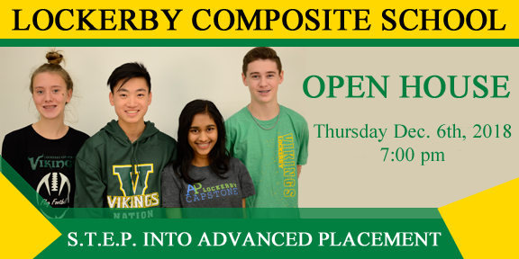 Open house banner Dec 6, 2018
