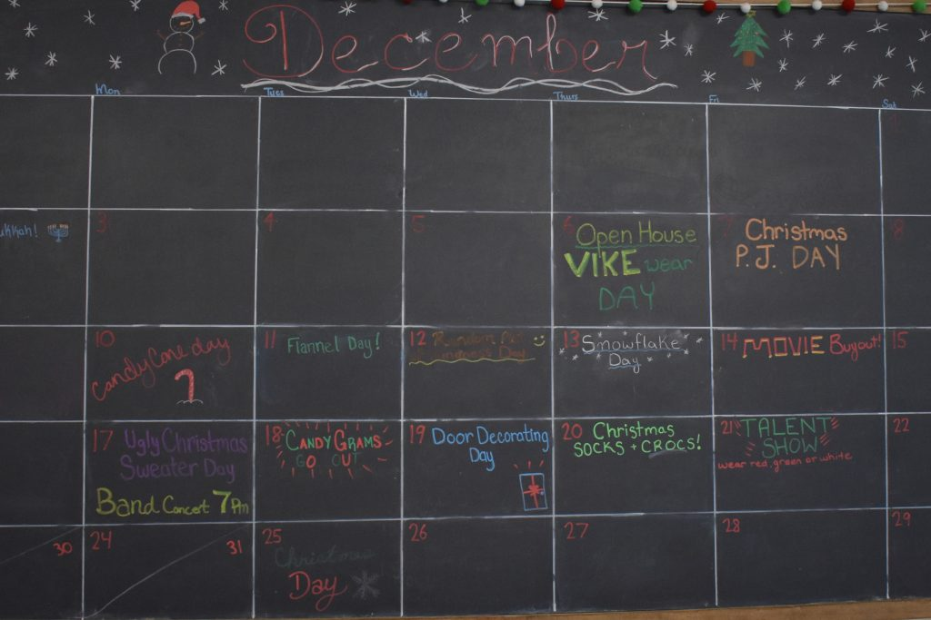 Lockerby Chalk Calender