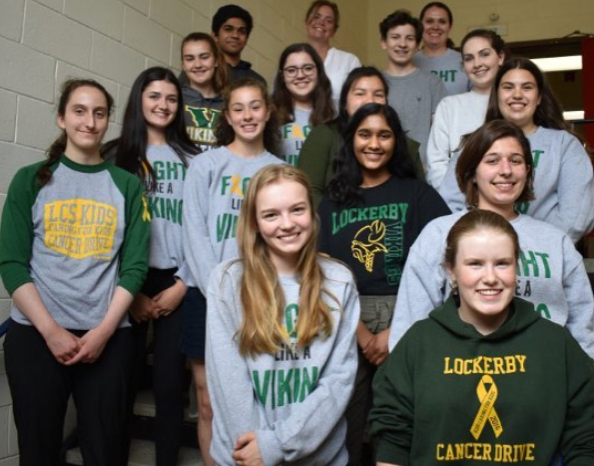 Lockerby's previous Cancer drive committee