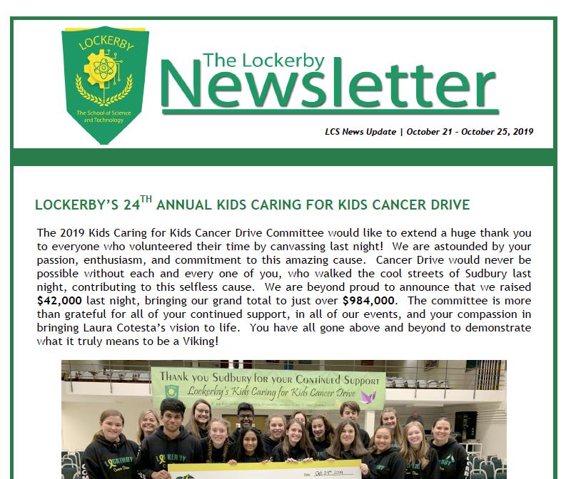 newsletter coverage
