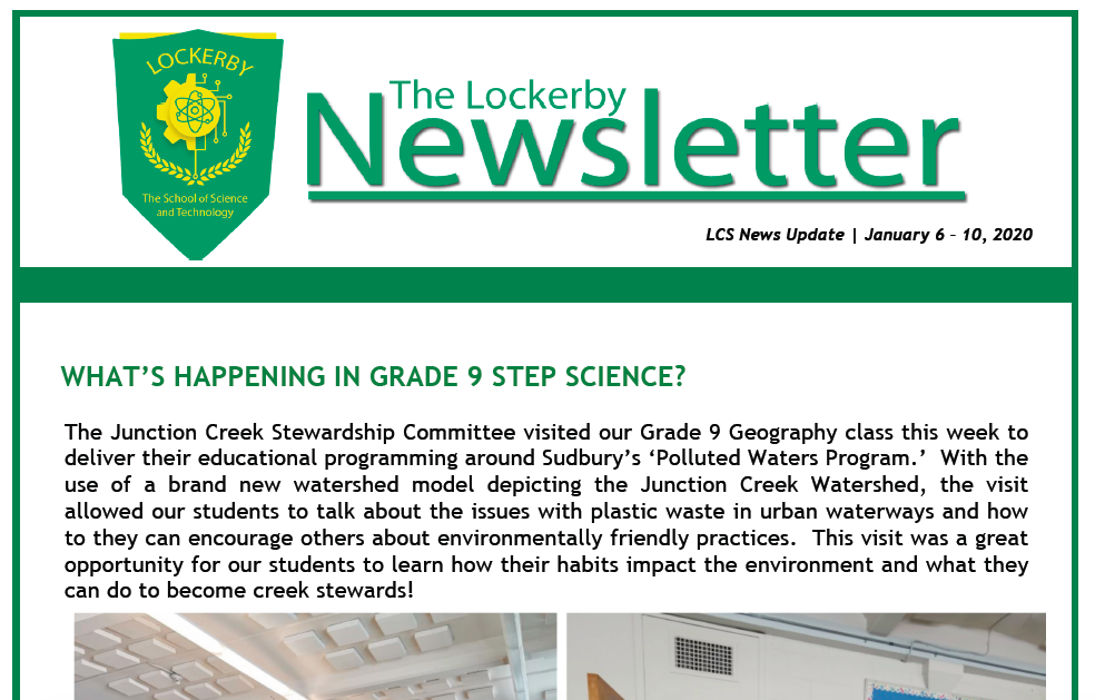 newsletter coverage