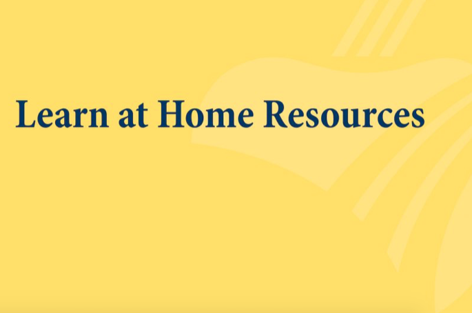 learn at home resources logo