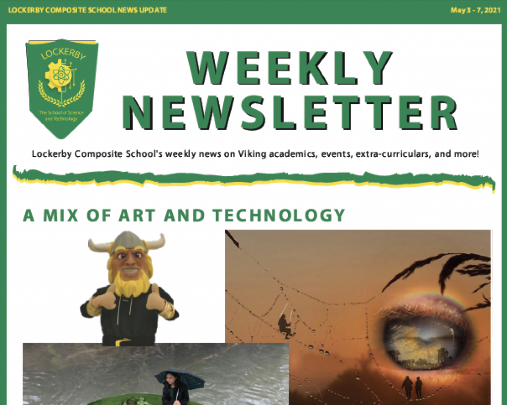 front page newsletter
